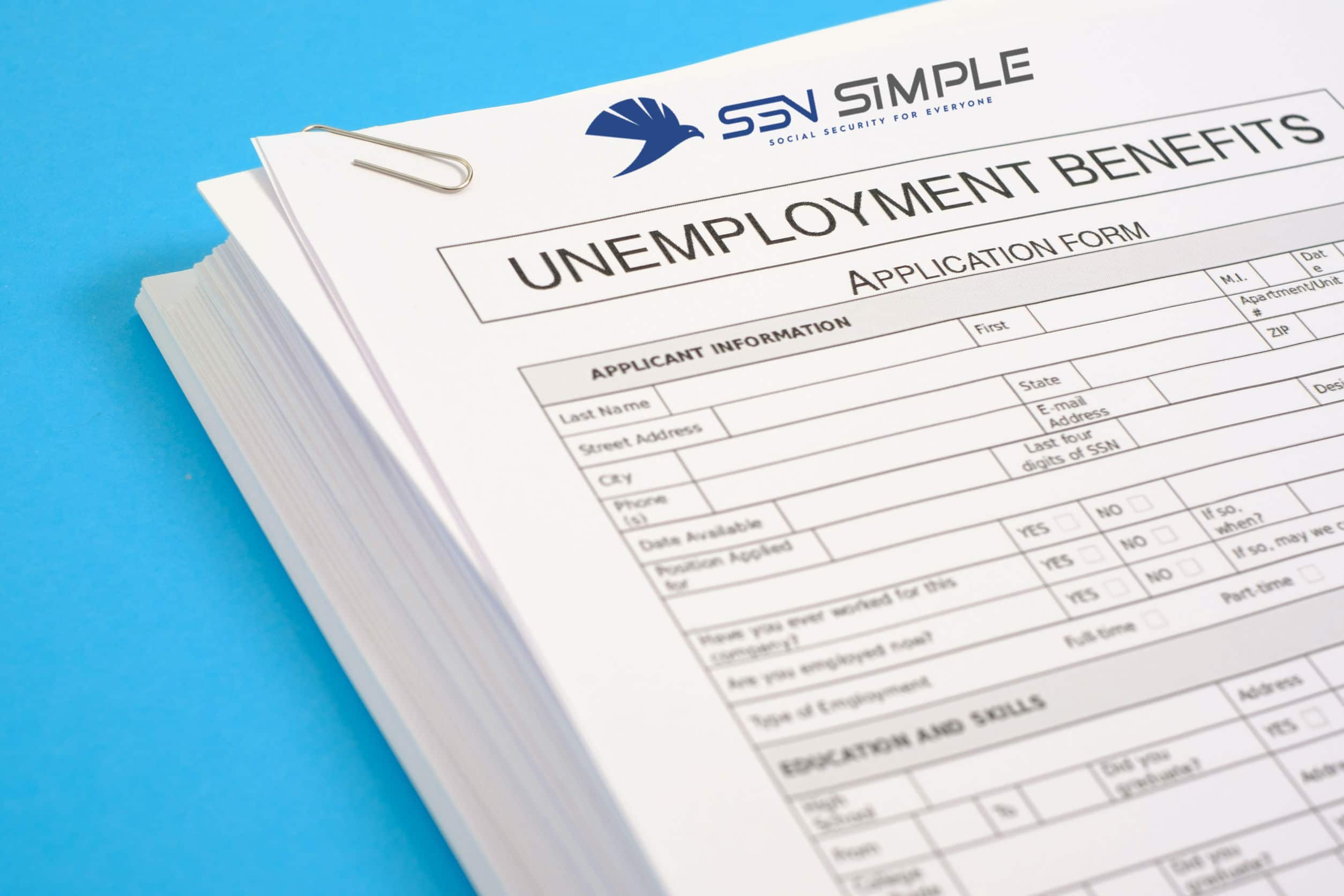 Unemployment Benefits Application Banner